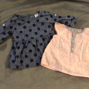 3for$10 kids items!paisley top&polka dots sweater